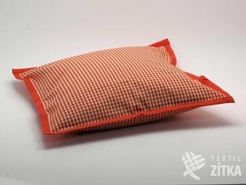 Polštářek 40 x 40 cm Piko 04 oranžová 02