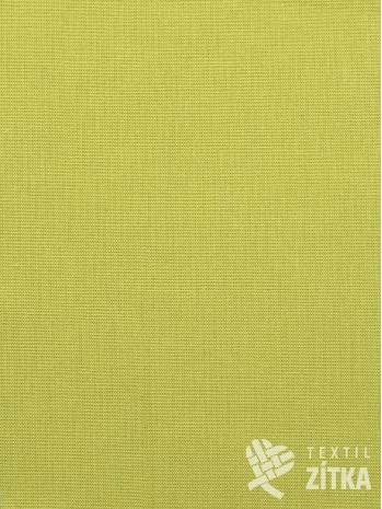 Kanafas jednobarevná zelinkavá