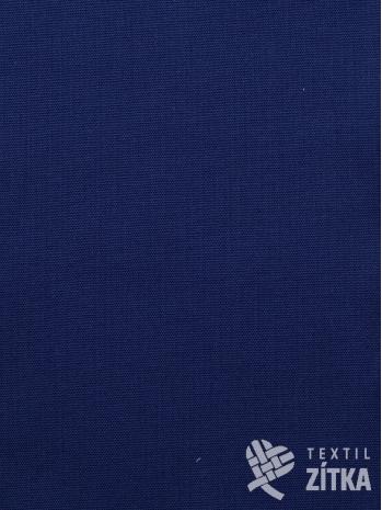 Kanafas jednobarevná modrá