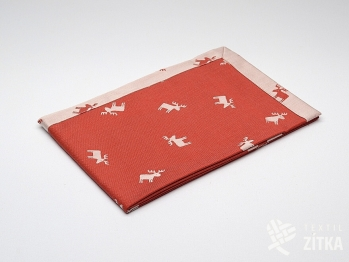 Napron, prostírky - Sára 700 červená