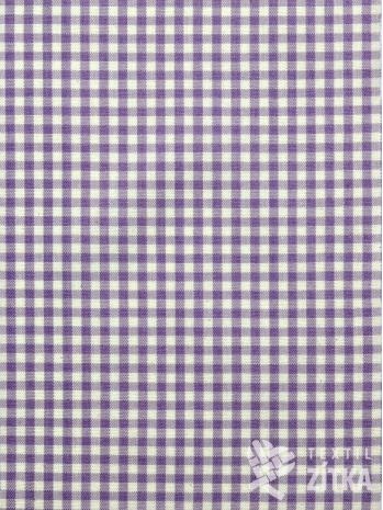 Kanafas drobná fialová kostička 0,4 cm