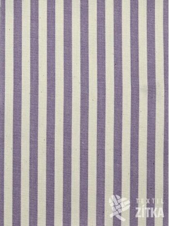 Kanafas fialový pruh 0,7 cm