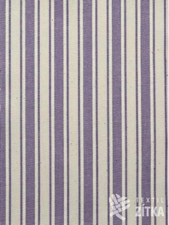 Kanafas fialový pruh
