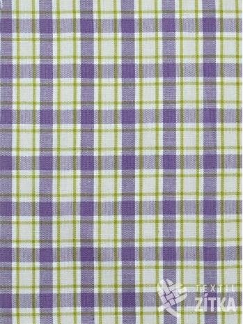 Kanafas fialovo zelinkavá kostička