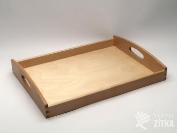 Dřevěný servírovací tác bukový