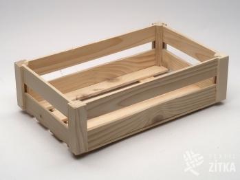 Dřevěná bedýnka malá snížená