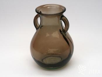 Váza 0,75 l šedohnědá