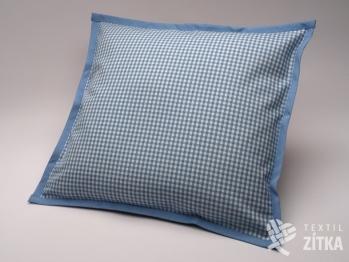 Polštářek 40 x 40 cm Piko 04 světle modrá