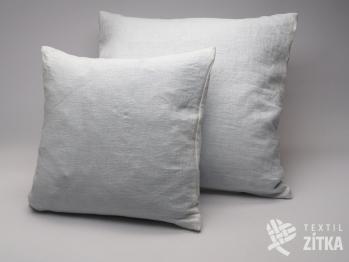 Lněný polštářek - bílý