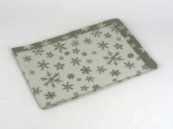 Vánoční prostírky a naprony - Sára 704 béžová