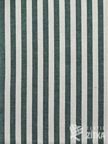 Kanafas zelený pruh 0,7 cm