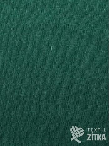 Kanafas jednobarevná zelená