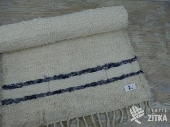 Ručně tkaný koberec č. 1 - 60 x 115 cm