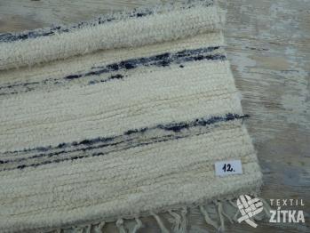 Ručně tkaný koberec č. 12 - 60 x 60 cm