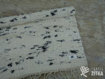 Ručně tkaný koberec č. 15 - 60 x 55 cm