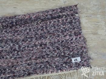 Ručně tkaný koberec č. 17 - 60 x 55 cm