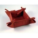Košíček Uni červená