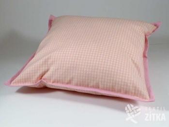 Polštářek 40 x 40 cm Piko 04 růžová