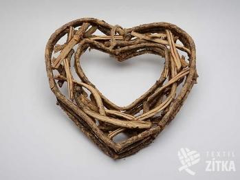Srdce proutěné