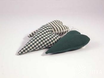 Srdíčko - zelená