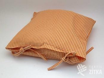 Potah na sedák 40 x 40 cm Piko 04 oranžová