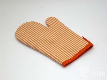 Chňapka Pruh 04 oranžová