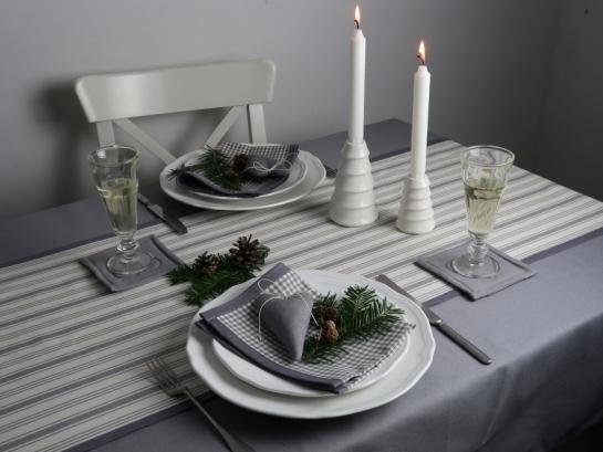 Vánoční kolekce šedá